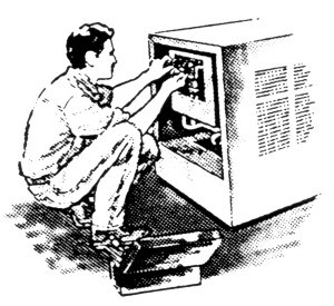 technician tuning up tampa ac system